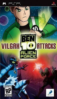 Ben 10 Alien Force Vilgax Attacks PSP PSP