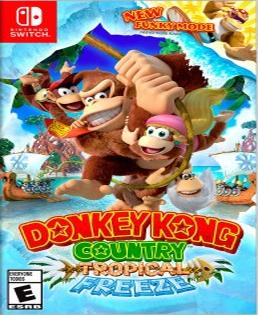 Donkey Kong Country Tropical Freeze Switch Videojuego