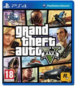 Juego Ps4 Grand Theft Auto V Francoxleal Vende