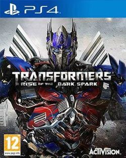 Transformers Rise of the Dark Spark  Juego Playstation 4  Oferta