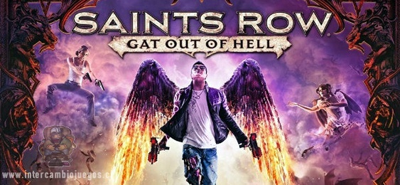 Saints Row Gat out of Hell nuevo tráiler